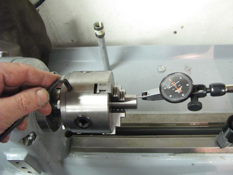 Mounting A Quot Plain Back Quot Lathe Chuck My Way The Home