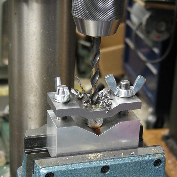 Cross Drilling Round Stock