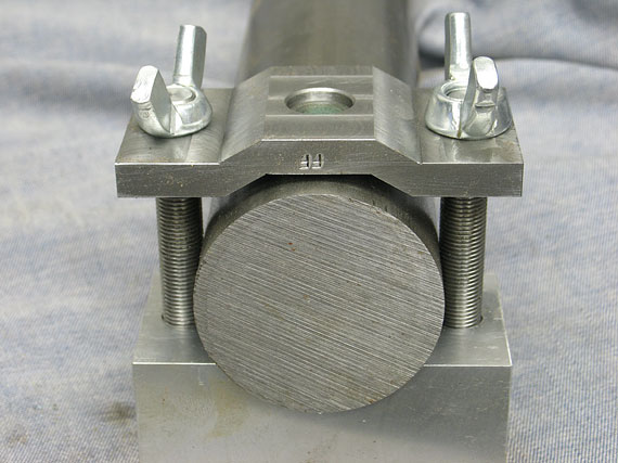 Cross Drilling Round Stock